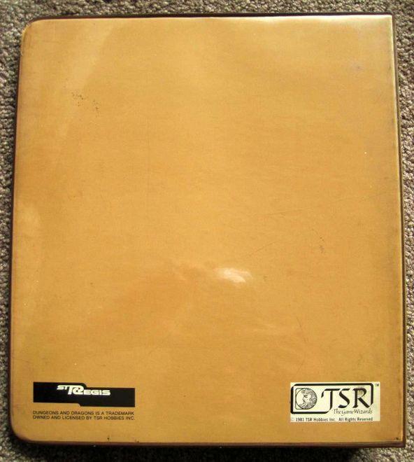 St Regis Player's Handbook cover binder back