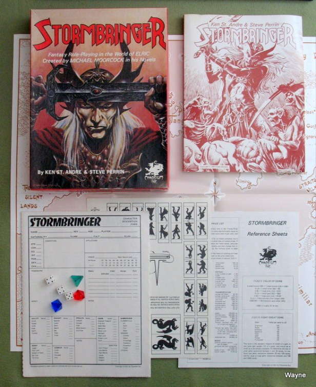 Stormbringer 1 2006 maroon book box set 02