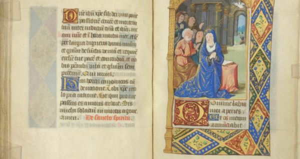 Mt Angel Abbey rare illuminated manuscript
