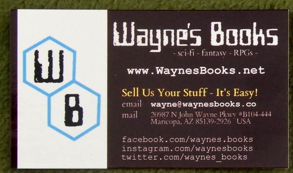 Business card - new WB logo