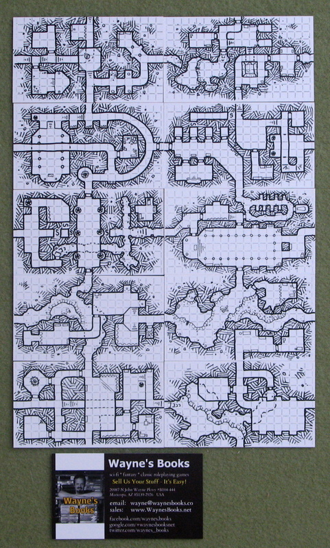 Business cards - dungeon geomorph - all 10