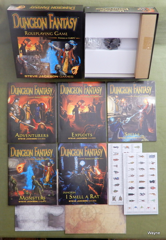 Dungeon Fantasy Roleplaying set