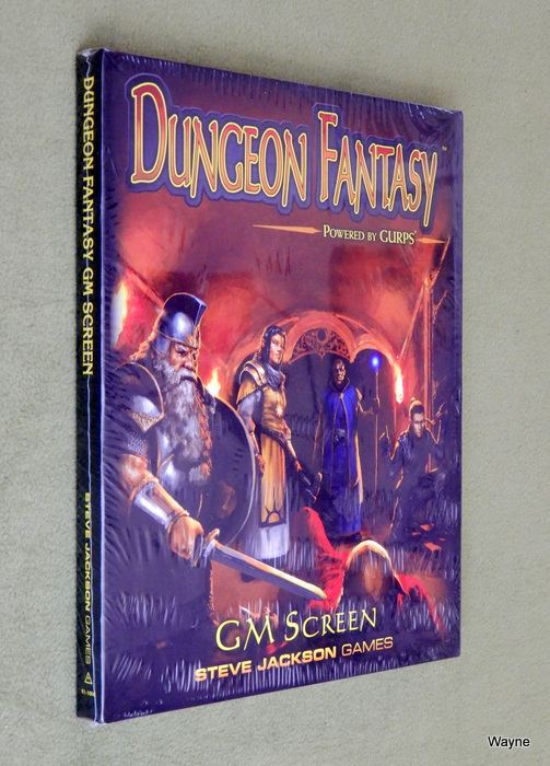 Dungeon Fantasy RPG - Game Master Screen prof