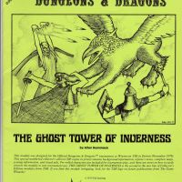 AD&D Ultra-rare: Ghost Tower of Inverness (1979): The Lime Green 1st Print