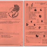 Early Chaosium order form