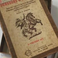 Dave Arneson's Personal Woodgrain D&D set: A Fascinating Story from Brazil