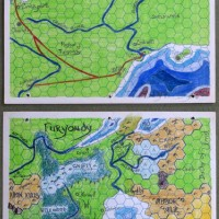 Free City of Greyhawk: Hand-drawn map
