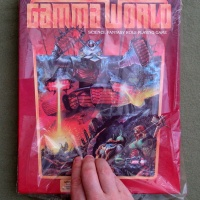 Gamma World: Damaged inside the shrinkwrap