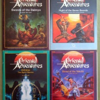 AD&D Oriental Adventures modules OA1-4