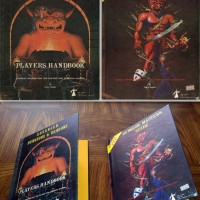 PLAYER'S HANDBOOK & DUNGEON MASTER'S GUIDE (ADVANCED DUNGEONS & DRAGONS, 1978-9) ** 1ST PRINTS **