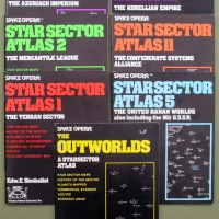 Space Opera roleplaying game: STAR SECTOR ATLASES