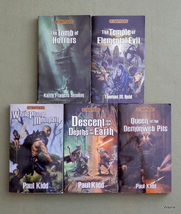 Greyhawk novels covers