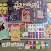 The New Dungeon board game (1989)