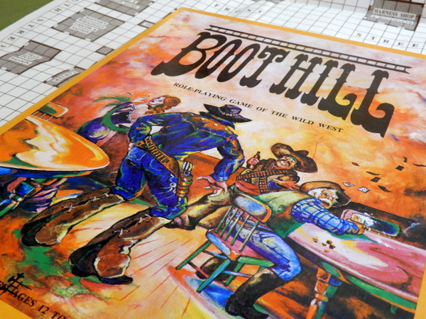 Boot Hill 2nd early set box lid detail