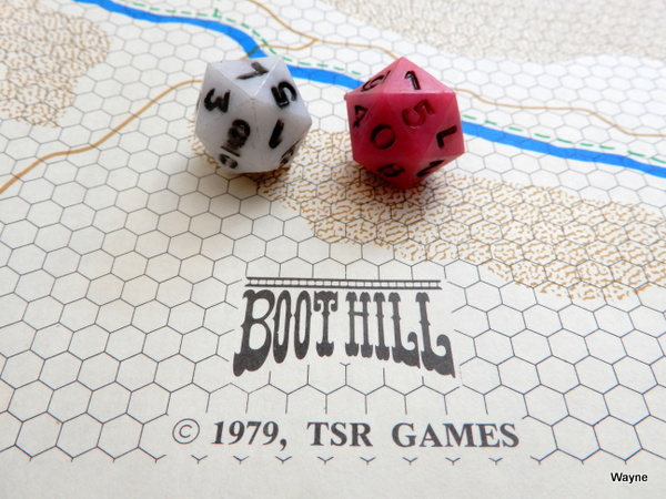 Boot Hill 2nd early set low impact dice