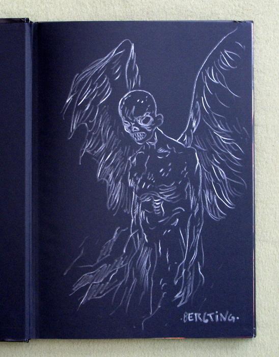 Kult - Au-delà du voile Bergting sketch