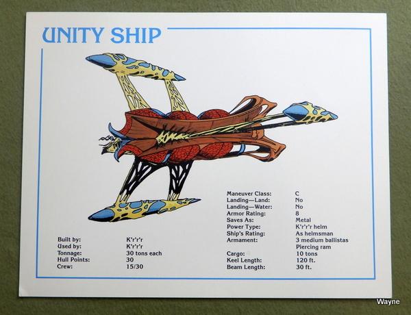 card Unity Ship