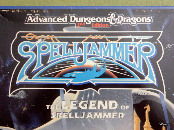 Legend of Spelljammer SJ logo