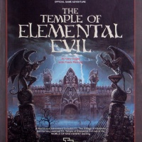 "AD&D Module T1-4 ""Temple of Elemental Evil"" - 1ST PRINT IDENTIFICATION"