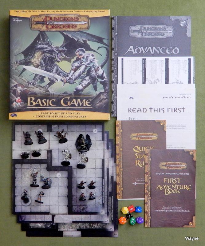 Dungeons Dragons Basic Game 2004 2006 Editions Wayne S Books