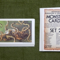 AD&D Monster Cards: Some favorites