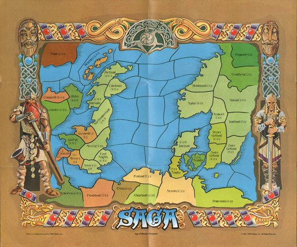 Saga Age of Heroes map