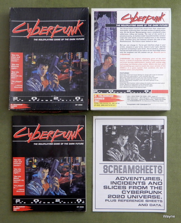 Cyberpunk 2020 box set 13