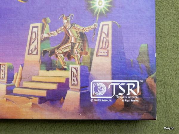 Deities & Demigods 1st 4th TSR face logo