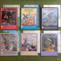 Middle Earth Roleplaying (MERP) campaign books