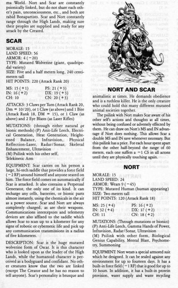 Nort n Scar crop