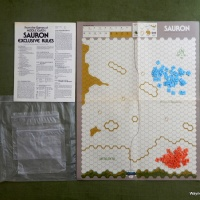 Sauron Exclusive Rules: From the Games of Middle Earth (SPI, 1977)