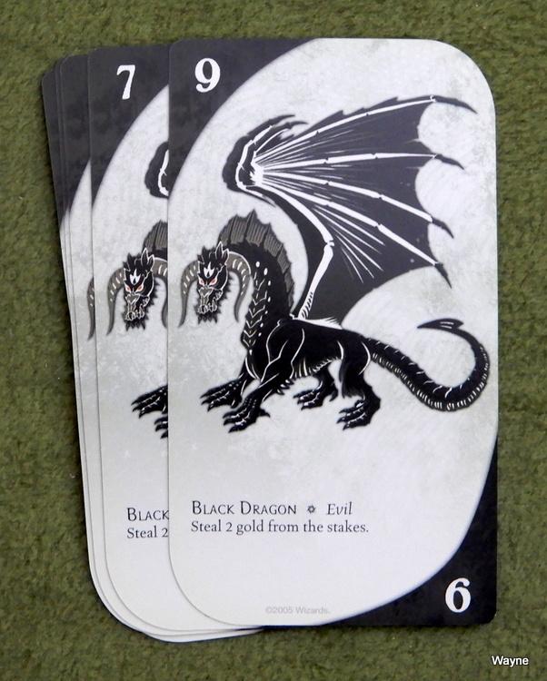 Three Dragon Ante - black dragon