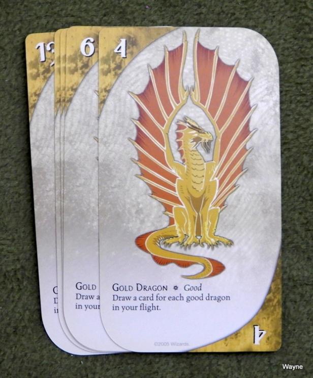 Three Dragon Ante - gold dragon