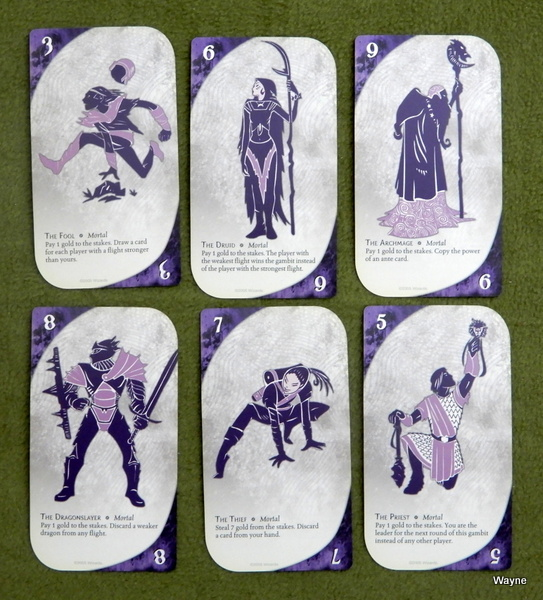 Three Dragon Ante - mortal cards