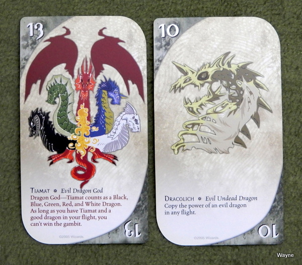 Three Dragon Ante - Tiamat and dracolich