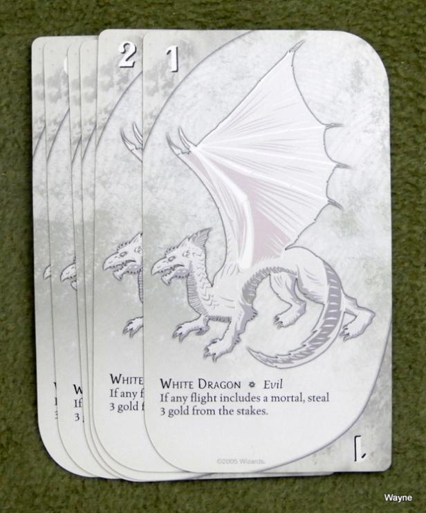 Three Dragon Ante - white dragon