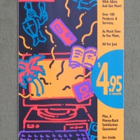 GEnie online service ad (1992)