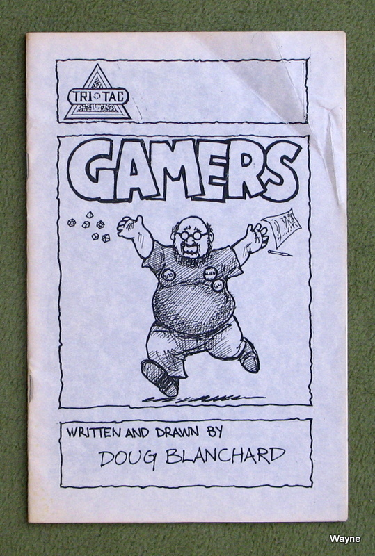 Gamers Comic Satire About Wargamers And Rpgers Tri Tac 1984