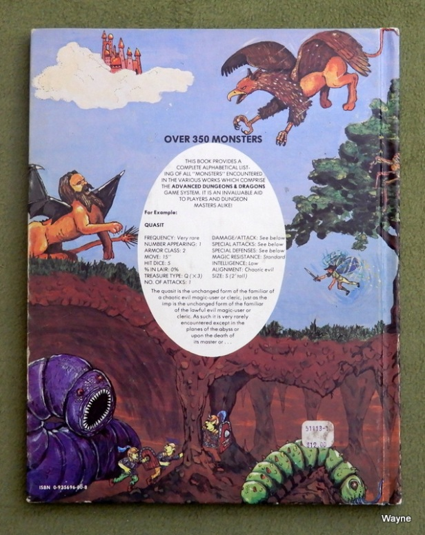 Monster Manual 1 4thA - back b