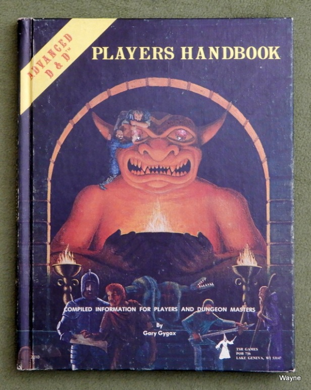 Players Handbook 1 6th print b