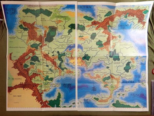 WOG 3rd folio booklet entire map