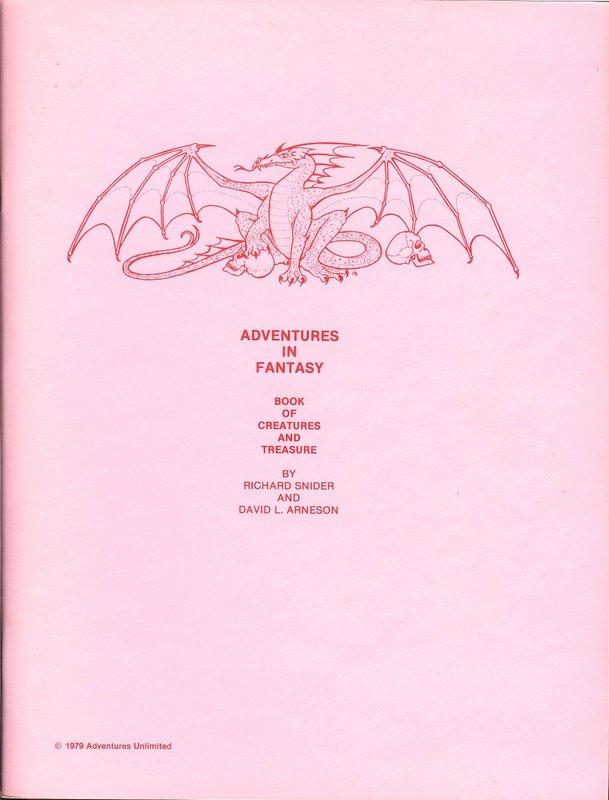 AiF - Creatures & Treasure