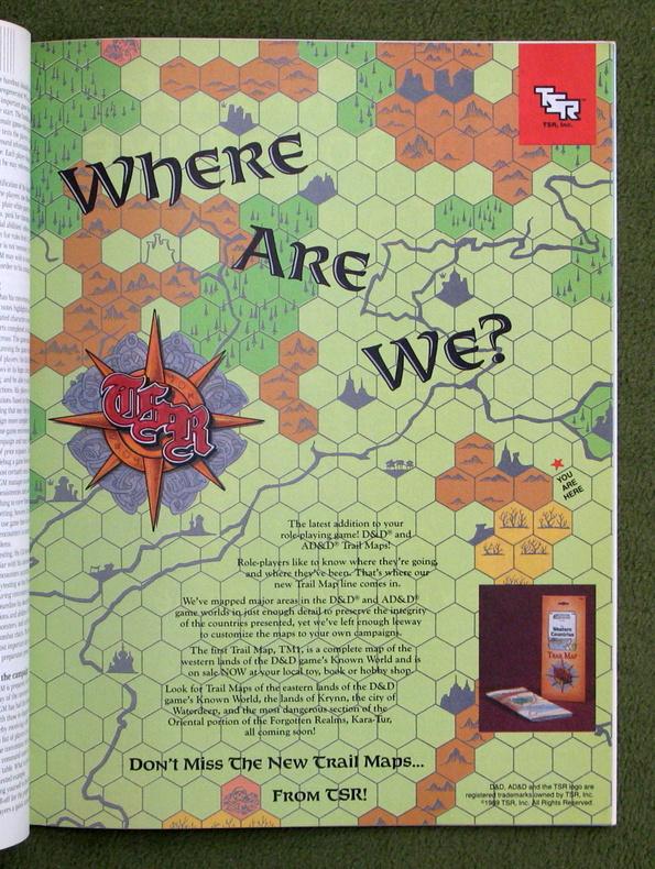Dragon 149 - Trail Maps ad