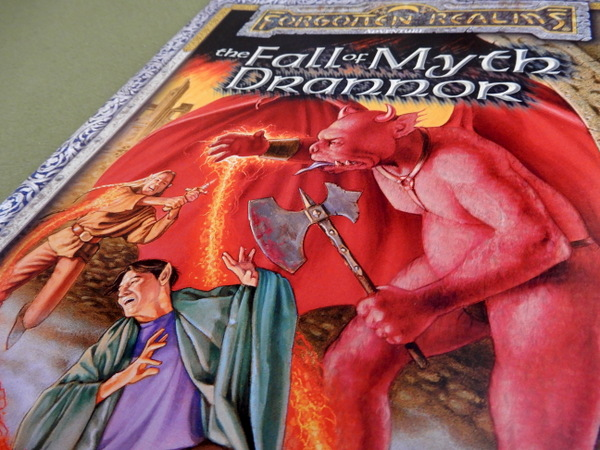 Fall of Myth Drannor cover detail