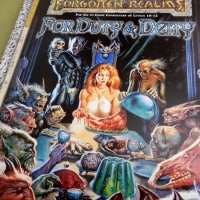 Thinning my personal collection: AD&D Forgotten Realms modules
