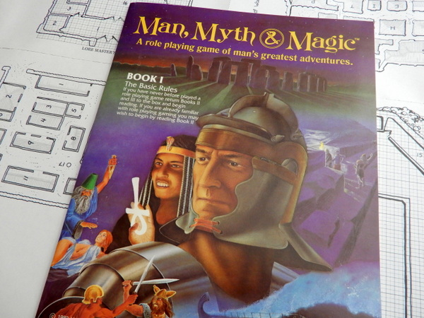 Man Myth Magic book 1