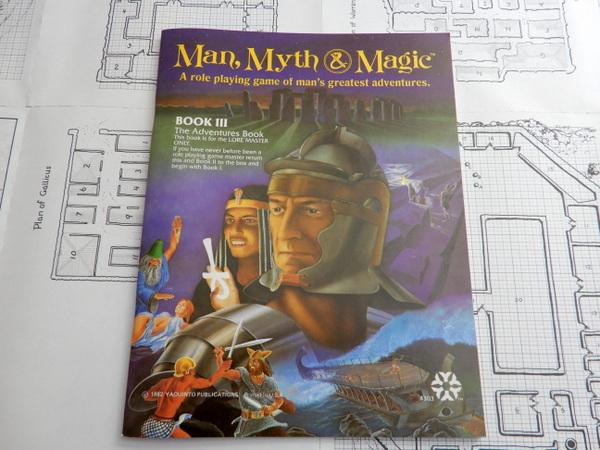 Man Myth Magic book 3