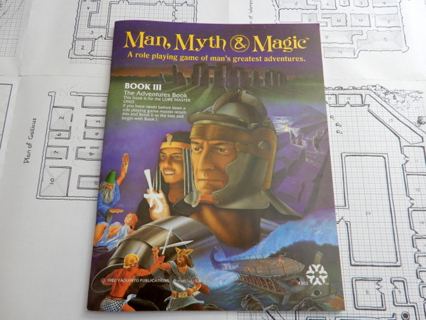Man Myth Magic book 3