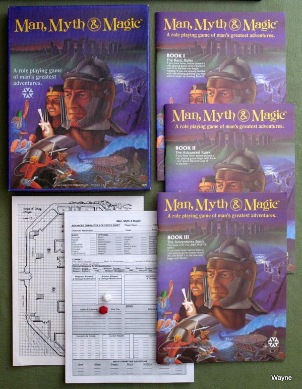Man Myth Magic box set 01