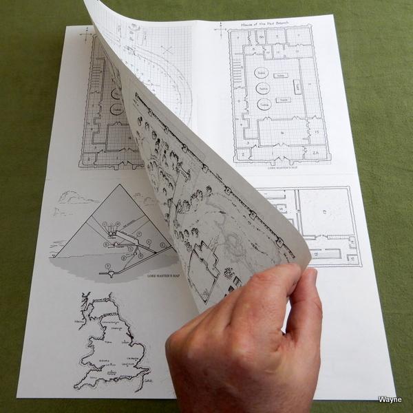 Man Myth Magic mapsheet